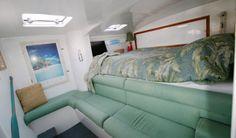 Catamaran Interior Stateroom, Coastal Theme Aolani Catamaran - San Diego, CA www.aolani.cc