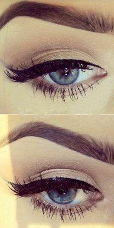 polished eye makeup