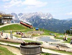Ellmis Zauberwelt – Ellmau | Tirol mit Blick auf den Wilden Kaiser. KiMaPa Kids on Tour