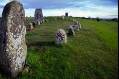 Öland, Sweden. Stonenge ; rock circles , present all over Europe.