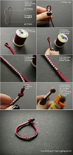 THE BIG MASH UP: DIY Pearl Braceletts + Blogger-Adventskalender Giveaway, DIY, selfmade pearl bracelets, how to