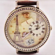 2012 Vintage Paris Style Polymer Clay Women's Fashion Watch