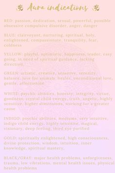 Aura Colours & Their Meaning In Your Life