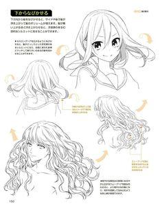 how to draw manga Manga Drawing Tutorials, Manga Tutorial, Drawing Techniques, Art Tutorials, Drawing Reference Poses, Drawing Skills, Art Reference, Pelo Anime, Manga Anime