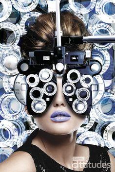 Magazine Lunettes Attitudes Printemps-Été 2014.  Offert chez votre opticien Maurice Frères Glasses Shop, Eye Glasses, Optometry Office, Wallpaper Earth, Optical Shop, Good To See You, Graphic Wallpaper, Cool Backpacks, Eye Art