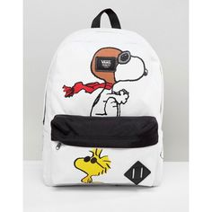 Vans X Peanuts Old Skool Backpack ( 61) ❤ liked on Polyvore featuring bags 0c3b3a4b3d3c9