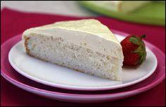 Afternoon Snack Recipe: Less-Guilt Vanilla Birthday Cake: Vitamin G: glamour.com