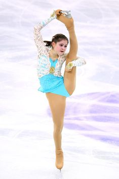 Julia Lipnitskaia of Russia competes in Free Skating Final during day three of the ISU Grand Prix of Figure Skating Final 2014/2015 at Barcelona International Convention Centre on December 13, 2014 in Barcelona, Spain.