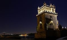 Torre de Belém (Belem Tower) Lisbon at Night | Flickr - Photo Sharing!