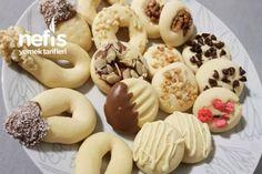Tek Hamurla Çesitli Kurabiyeler Tarifi Doughnut, Tart, Desserts, Crack Crackers, Kitchen, Cakes, Baking, Tailgate Desserts, Pie