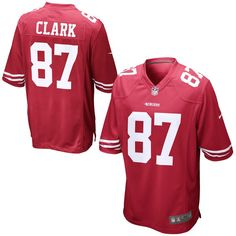 San Francisco 49ers Nike Dwight Clark Retired Player Game Jersey – Cardinal