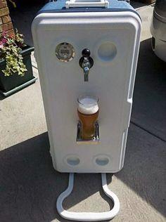 Corny Cooler Portable Kegerator #DIY