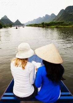 Tourist couple travelling in Vietnam Stock Photo Rich Image, Travel And Tourism, Vietnam Travel, Photo Library, Travel Couple, Royalty Free Photos, Travelling, Stock Photos, Adventure
