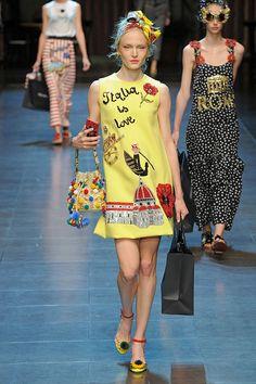Dolce & Gabbana primavera-verão 2016 - Lilian Pacce