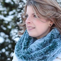 b10aaf815e656 Fur Scarf, Faux Fur Scarf, Teal Scarf, Infinity Scarf, Women's Scarves,  Neck Warmer, Gift for Her, Warm Scarf, Winter Scarf, Woman's Gift