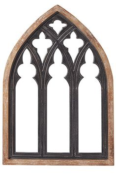Cathedral Wall Mirror - Window Mirror - Large Mirror - Arched Mirror | HomeDecorators.com