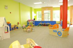 A play space for parents and children