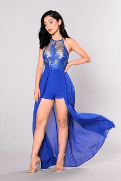 Carson Dress - Royal
