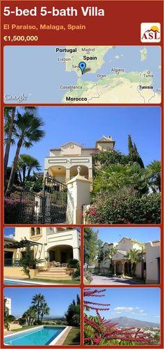 5-bed 5-bath Villa in El Paraiso, Malaga, Spain ►€1,500,000 #PropertyForSaleInSpain