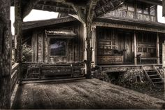 Old wooden house - urbex
