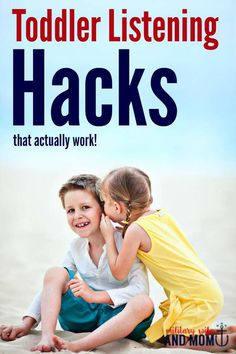 Struggling with your toddler not listening? These hacks are awesome. A must read for parents with young kids!