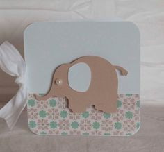 Elephant Baby Shower Thank You Cards Notes by CardinalBoutique, $78.75