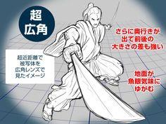 【イラスト豆知識】超広角レンズの描き方 – ビジネスアニメ
