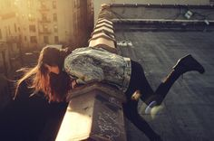 Hold onto the ledge