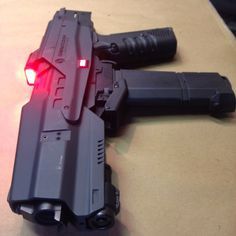 Omnicorp Weapons Division M2 Battle Rifle. The Auto 50 .50 Beowulf Rifle Caliber  30 Round Magazine