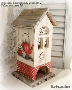 Новости Decoupage Tutorial, Decoupage Paper, Home Crafts, Diy And Crafts, Paper Crafts, Wood Projects, Craft Projects, Tea Holder, Tea Blog