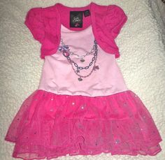 Toddler Girls Sparkly Necklace Dress $5.00