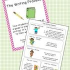 This freebie can be a great way to help your kids work through the writing process!  They can keep this guide in their writer's notebooks and can r...