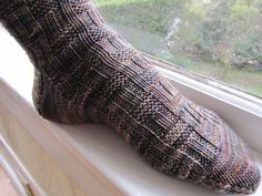 So I finally got a knitting project off the needles... Roger Socks by Anne Hansen for Michael. I've been feeling guilty because two sets of Michael's handmade socks have recently (mysteriously!?) ...