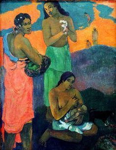 Women by the Sea (Motherhood), 1899 Paul Gauguin