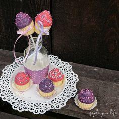 sweet littles... kleine cupcake-seifen die ganz himmlisch nach buttercookies mit vanillesauce duften... yummi...