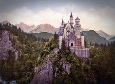 Neuschwanstein, il castello delle favole!!!