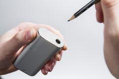 IDRAW Creative Goods: Rechargeable Pencil Sharpener by Matt Marrocco — Kickstarter.  Sleek, minimalist design. Rechargeable. Portable. Premium. A pencil sharpener for the modern age.
