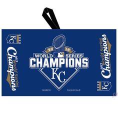 "2015 MLB World Series Champions Kansas City Royals Waffle Towel With strap 14"" x 24"""