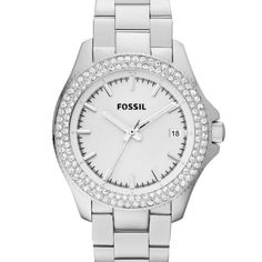 Fossil Retro Traveler Three Hand Stainless Steel Watch Am4452 * Want to know more, click on the image. (This is an affiliate link)