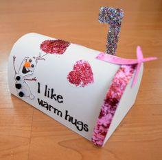 DIY Frozen Valentine's Box