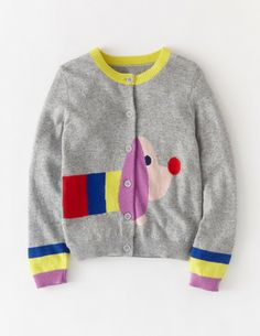 Girls' Clothing (newborn-5t) Special Section Nwt Hand Knitted Sweater Cardigan Toucan Long Sleeved Toddler Girl Large 4t