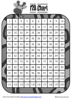 Classroom Freebies: 120 Chart Number of the Day Fun Classroom Activities, Classroom Freebies, Math Classroom, Kindergarten Math, Teaching Math, Teaching Ideas, Classroom Ideas, Math Games, Maths