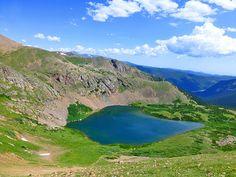 indian peaks wilderness area colorado | Rogers Peak Lake and Heart Lake - 8.7 miles