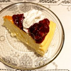 CRUSTLESS NEW YORK CHEESECAKE