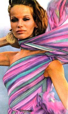 Veruschka by Bert Stern, Vogue US April 1965.