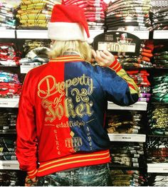 Hey Puddin' - guess what's back?! // DC Comics Suicide Squad Harley Quinn Girls Bomber Jacket
