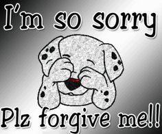 I'm So Sorry Plz Forgive Me !!!