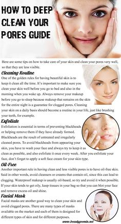 Even if a person is not in a daily contact with excess dirt, pores can still get clogged very easily. They are constantly faced with dry skin, oil, and bacteria, all of which can lead to blackheads, pimples, and acne. That's why regular care is essential for having beautiful skin and thus – being more confident and happy. Here are some tips on how to take care of your skin and clean your pores very well, so that they are less visible.