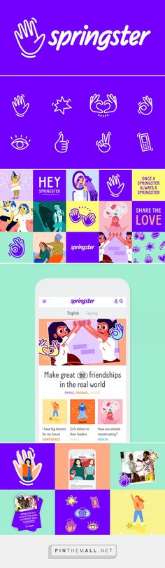 Brand New: New Name, Logo, and Identity for Springster by DesignStudio - created via https://pinthemall.net
