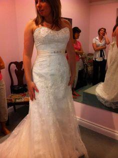 Neckline. Found on Weddingbee.com Share your inspiration today!